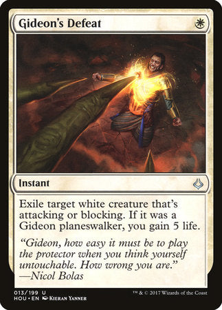 Gideon's Defeat [Hour of Devastation] | Eastridge Sports Cards & Games