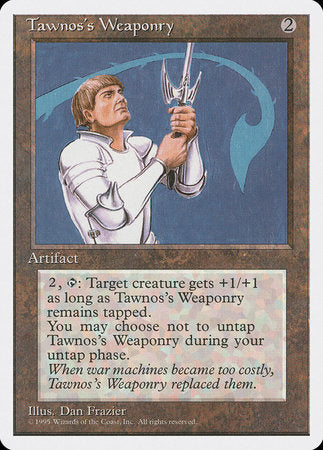 Tawnos's Weaponry [Fourth Edition] | Eastridge Sports Cards & Games
