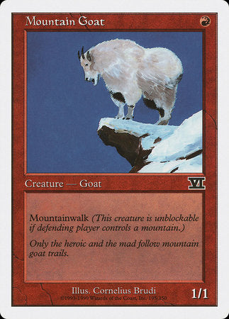 Mountain Goat [Classic Sixth Edition] | Eastridge Sports Cards & Games