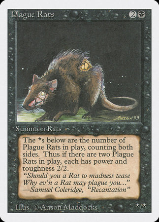 Plague Rats [Revised Edition] | Eastridge Sports Cards & Games