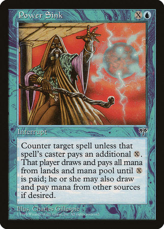 Power Sink [Mirage] | Eastridge Sports Cards & Games