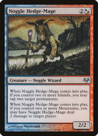 Noggle Hedge-Mage [Eventide] | Eastridge Sports Cards & Games