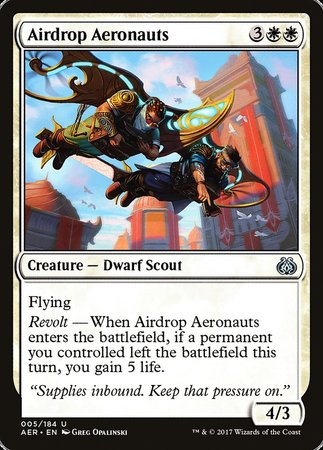 Airdrop Aeronauts [Aether Revolt] | Eastridge Sports Cards & Games