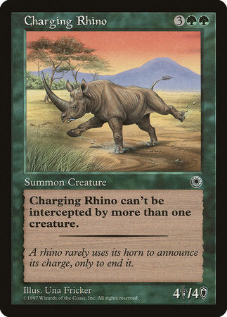 Charging Rhino [Portal] | Eastridge Sports Cards & Games