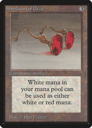 Sunglasses of Urza [Limited Edition Beta] | Eastridge Sports Cards & Games