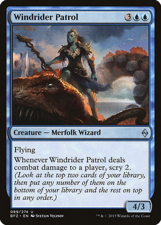 Windrider Patrol [Battle for Zendikar] | Eastridge Sports Cards & Games
