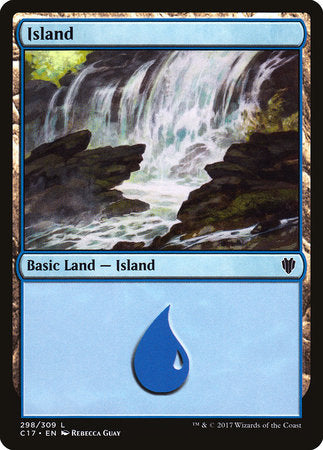 Island (298) [Commander 2017] | Eastridge Sports Cards & Games
