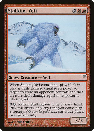 Stalking Yeti [Coldsnap] | Eastridge Sports Cards & Games
