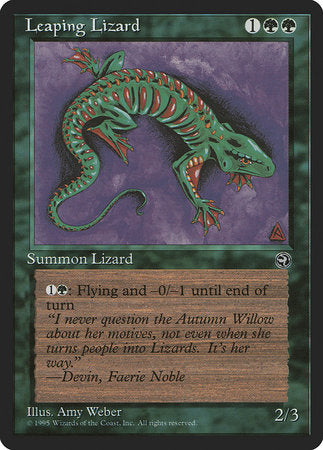 Leaping Lizard [Homelands] | Eastridge Sports Cards & Games