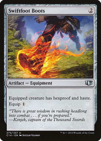 Swiftfoot Boots [Commander 2014] | Eastridge Sports Cards & Games