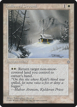 Hallowed Ground [Ice Age] | Eastridge Sports Cards & Games