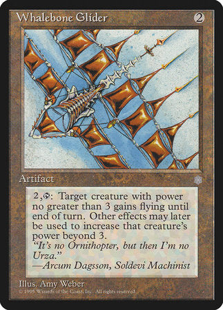 Whalebone Glider [Ice Age] | Eastridge Sports Cards & Games
