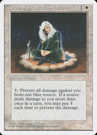 Circle of Protection: Blue [Fourth Edition] | Eastridge Sports Cards & Games