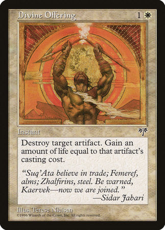 Divine Offering [Mirage] | Eastridge Sports Cards & Games