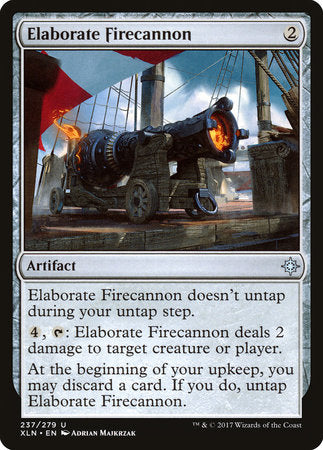 Elaborate Firecannon [Ixalan] | Eastridge Sports Cards & Games