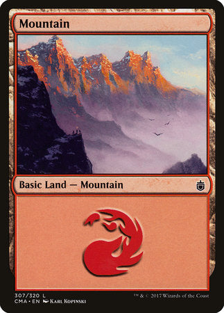 Mountain (307) [Commander Anthology] | Eastridge Sports Cards & Games