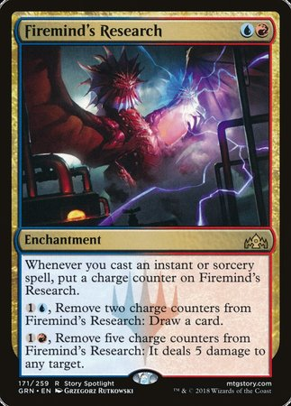Firemind's Research [Guilds of Ravnica] | Eastridge Sports Cards & Games