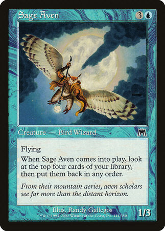Sage Aven [Onslaught] | Eastridge Sports Cards & Games