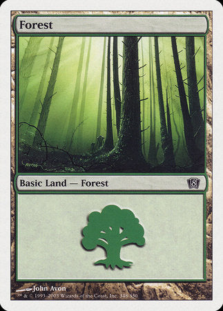 Forest (348) [Eighth Edition] | Eastridge Sports Cards & Games