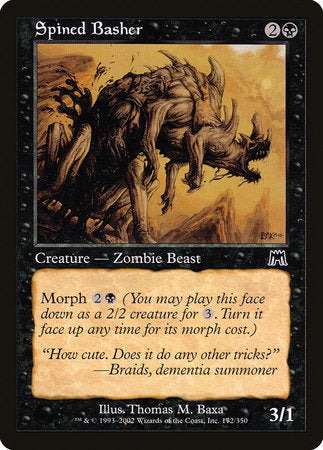 Spined Basher [Onslaught] | Eastridge Sports Cards & Games