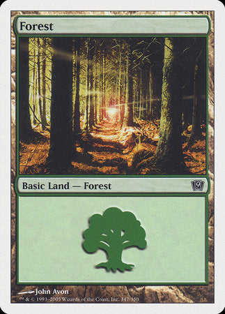Forest (347) [Ninth Edition] | Eastridge Sports Cards & Games