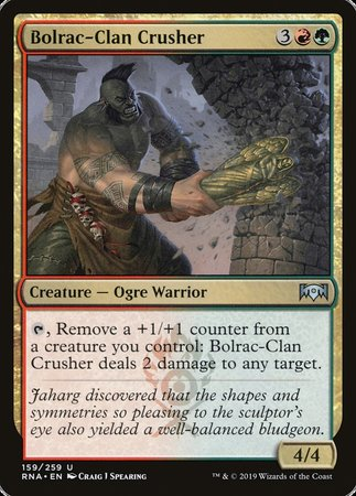 Bolrac-Clan Crusher [Ravnica Allegiance] | Eastridge Sports Cards & Games