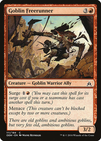 Goblin Freerunner [Oath of the Gatewatch] | Eastridge Sports Cards & Games