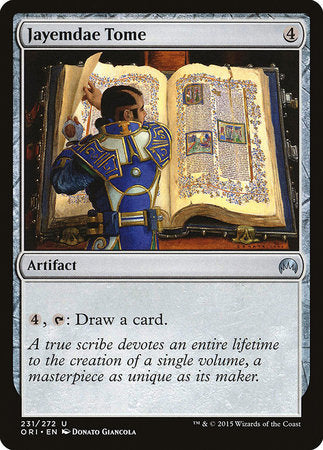 Jayemdae Tome [Magic Origins] | Eastridge Sports Cards & Games