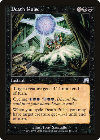 Death Pulse [Onslaught] | Eastridge Sports Cards & Games