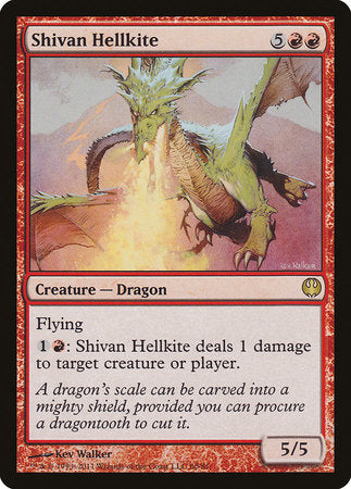 Shivan Hellkite [Duel Decks: Knights vs. Dragons] | Eastridge Sports Cards & Games