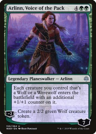 Arlinn, Voice of the Pack [War of the Spark] | Eastridge Sports Cards & Games