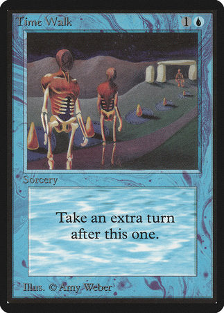 Time Walk [Limited Edition Beta] | Eastridge Sports Cards & Games