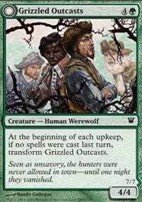 Grizzled Outcasts [Innistrad] | Eastridge Sports Cards & Games