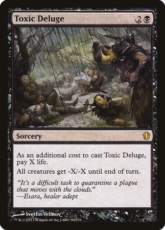 Toxic Deluge [Commander 2013] | Eastridge Sports Cards & Games