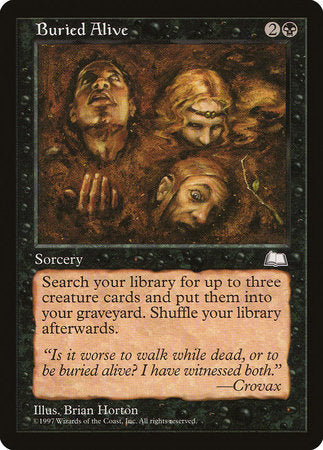 Buried Alive [Weatherlight] | Eastridge Sports Cards & Games