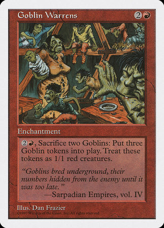 Goblin Warrens [Fifth Edition] | Eastridge Sports Cards & Games