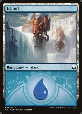 Island (48) [GRN Guild Kit] | Eastridge Sports Cards & Games