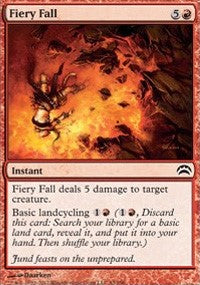 Fiery Fall [Planechase 2012] | Eastridge Sports Cards & Games