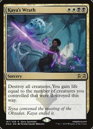 Kaya's Wrath [Ravnica Allegiance] | Eastridge Sports Cards & Games