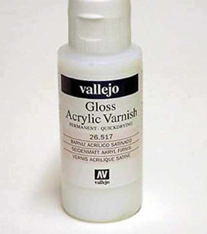 VALLEJO AUXILIARY: GLOSS VARNISH (60ML) | Eastridge Sports Cards & Games