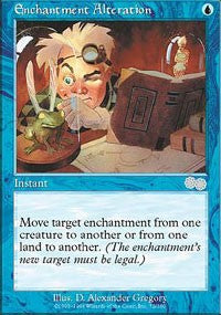 Enchantment Alteration [Urza's Saga] | Eastridge Sports Cards & Games