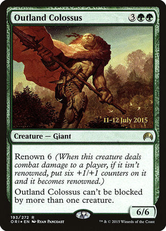 Outland Colossus [Magic Origins Promos] | Eastridge Sports Cards & Games