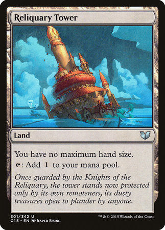 Reliquary Tower [Commander 2015] | Eastridge Sports Cards & Games