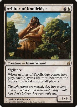 Arbiter of Knollridge [Lorwyn] | Eastridge Sports Cards & Games
