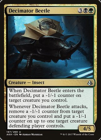 Decimator Beetle [Amonkhet] | Eastridge Sports Cards & Games