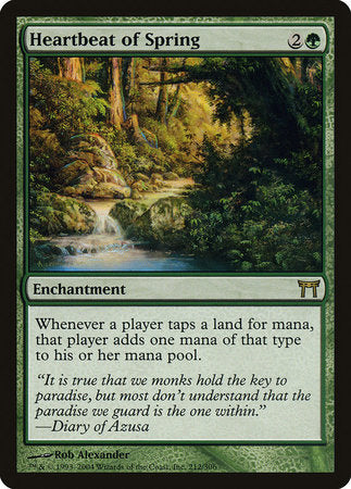Heartbeat of Spring [Champions of Kamigawa] | Eastridge Sports Cards & Games