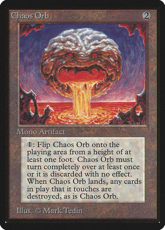Chaos Orb [Limited Edition Beta] | Eastridge Sports Cards & Games