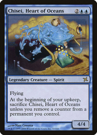 Chisei, Heart of Oceans [Betrayers of Kamigawa] | Eastridge Sports Cards & Games