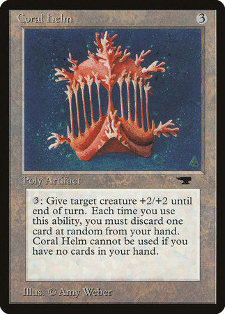 Coral Helm [Antiquities] | Eastridge Sports Cards & Games