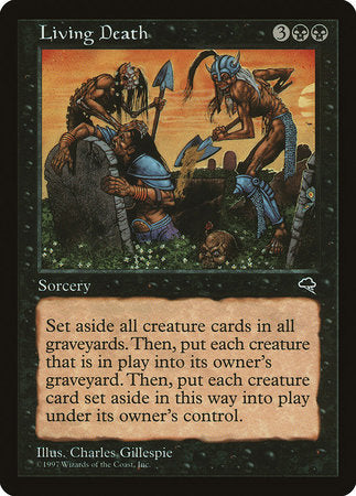 Living Death [Tempest] | Eastridge Sports Cards & Games